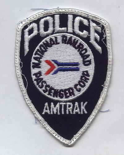 1980s Police Patch Amtrak