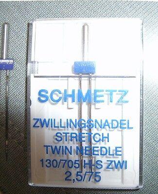 Schmetz Embroidery-Sticknadeln 90//130//705 H-E//5 Nadeln mittlere Kugelspitze #650