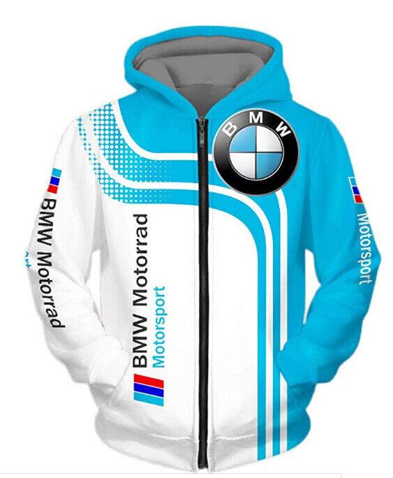 Motorsport M Series Race Sports Car Zipper Jacket Coat Hoodie Sweatshirt Sweater Activewear