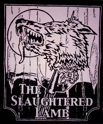 BACK PATCH- The Slaughtered Lamb - HORROR movie - An American Werewolf in London