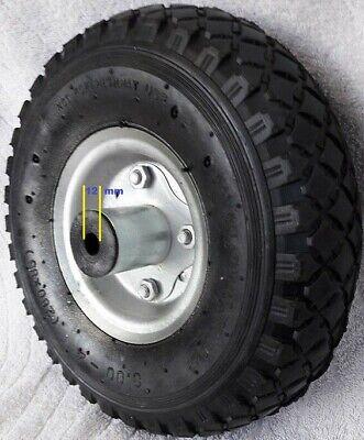 NEU 2 Stück Luft Rad 260x85x12 Sackkarrenrad Bollerwagen Sackkarre Reifen 3.00-4 - X 12 Luft