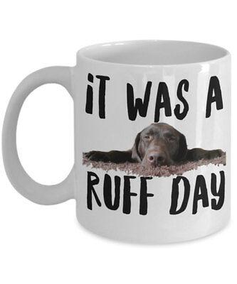 Chocolate Labrador Mug
