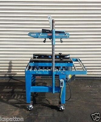 Abal Top Case Taper Sealer With Powered Belts Sealing Machinery