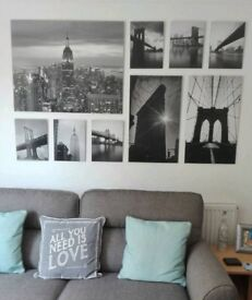 New York Picture Set - MUST SELL SOON