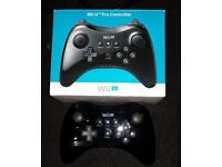 Boxed Wii u pro controller