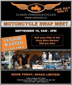 2017 Classy Chassis Motorcycle Swap Meet!!!
