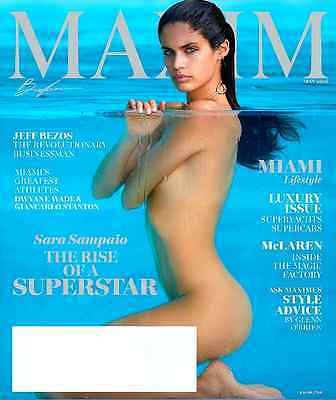 Maxim Magazine May 2016   Sara Sampaio Cover  The Rise Of A Superstar   New