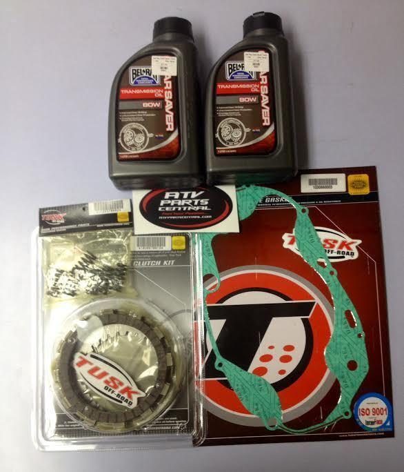 TUSK CLUTCH KIT HEAVY DUTY SPRINGS + GASKET + OIL YAMAHA BANSHEE 350 1987-2006