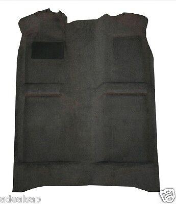 ACC 77-90 CHEVROLET CAPRICE 4-DOOR BLACK MOLDED CARPET RUG - MADE IN USA Chevrolet Caprice 4 Door Carpet