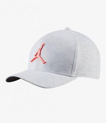 Nike Jordan Classic 99 Metal Cap Jumpman Casual Hat White Unisex CT0014-100