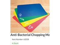 Anti bacterial chopping mats