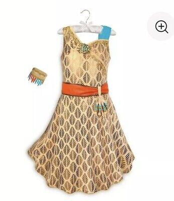 Pocahontas Costume for Kids Disney Store NWT NEW Size 9/10 Dress Princess - Childrens Pocahontas Costume
