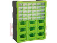 SEALEY APDC39HV STORAGE CABINET BOX 39 DRAWER - HI-VIS GREEN/BLACK