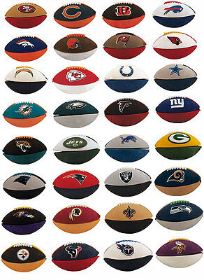 NFL FOOTBALL ERASERS COLLECTIBLE 32 TEAMS PARTY GOODY BAGS - FUN SCHOOL GIFT