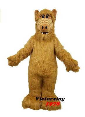 ALF Monster Mascot Costume Animal Costume Free - Alf Costume
