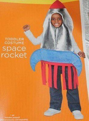 INFANT BABY COSTUME HALLOWEEN JUMPSUIT BOY GIRL 2T 3T 4T (Space Rocket Halloween-kostüm)