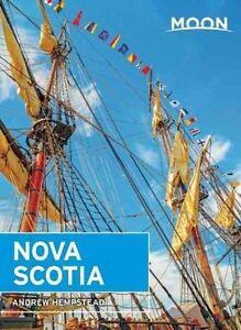 Moon Nova Scotia Guide Book (Paperback, 2015) Canada Guide Book used