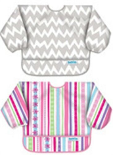 1 Bumkins Su-760/501 Sleeved Bib Assorted Styles/Colors,No