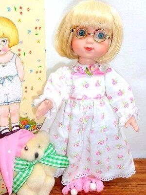 "Tonner HE SEES YOU WHEN YOU'RE SLEEPING Ann Estelle 10"" Doll Box Mary Engelbreit"