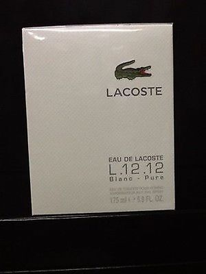 EAU DE LACOSTE BLANC BY LACOSTE 5.9 OZ EDT SPRAY *MEN'S PERFUME* NEW SEALED BOX