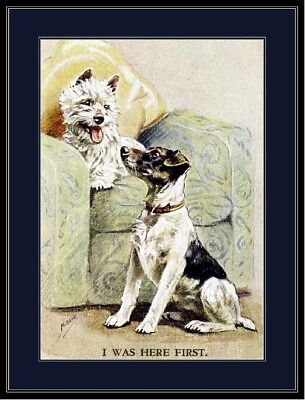 Picture West Highland Jack Russell Terrier Puppy Dogs Puppies Dog Poster Print for sale  Shipping to Canada