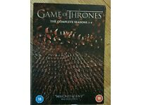 Game of Thrones complete series 1- 4