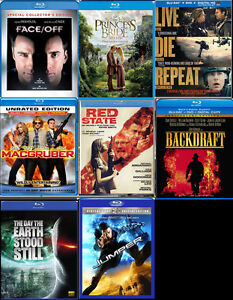 Bluray Movies for Trade or Sale