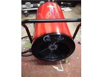 NEW - 18kW Fan Heater (415v 3Ph)