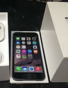/// iPhone *6 --16GB  // BELL / VIRGIN // BLACK / GRAY // IN BOX