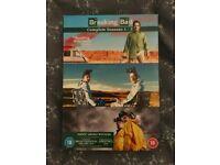 Breaking Bad DVD box set complete series 1-3