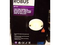 ROBUS Fire Rated Low Voltage 13W light fittings *BRAND NEW BOXED*