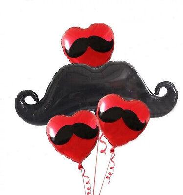 Mustache Madness Foil Balloon Mexican Spanish Fiesta Party Supplies Decoration](Mustache Balloon)