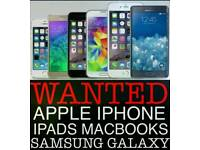 WANTED | X IPHONE 8 8 PLUS SAMSUNG GALAXY S9 NOTE 8 S8 64GB 256GB IPHONE 7 PLUS 128GB MACBOOK PRO
