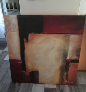 Noah Li Leger Abstract Canvas Painting