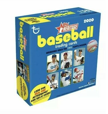 2020 Topps HERITAGE MEGA BOX / Brand New / Factory Sealed
