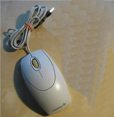 Scroll-rad-maus (1x Cherry optische USB 3 Tasten Scrollrad Maus  Kabelgebunden   plug & play  RAR)