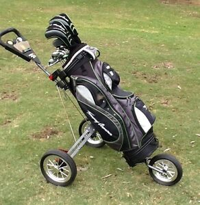 Golf Clubs RH men's Full set + Buggy Everthing You need !!!! Bundoora Banyule Area Preview