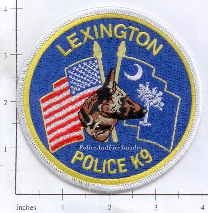 South Carolina - Lexington K-9 SC Police Dept Patch