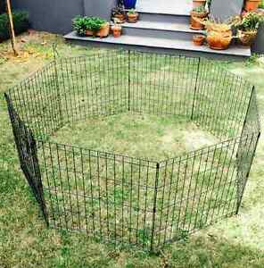 Animates Dog Exercise Pen - black 61cm Dulwich Burnside Area Preview