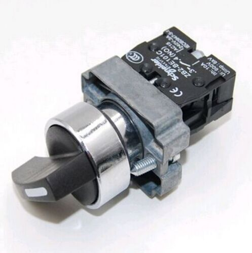 2Pcs ON//OFF Twist 2 Position Selector Switch M/_M/_S