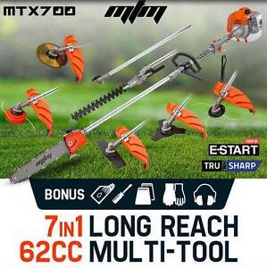 62cc Pole Chainsaw Saw Multi Tool Brush Cutter Brushcutter Hedge Melbourne CBD Melbourne City Preview