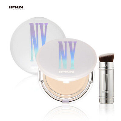 [IPKN] NEW Skinny Fit Snow Pact 12g + Refill 12g + Brush  #21  Mineral Cover