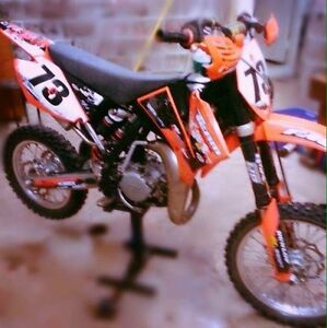 2009 KTM 85 with a 105 Big Bore kit
