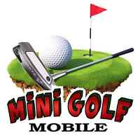 Jeux gonflables - Mini Golf Mobile