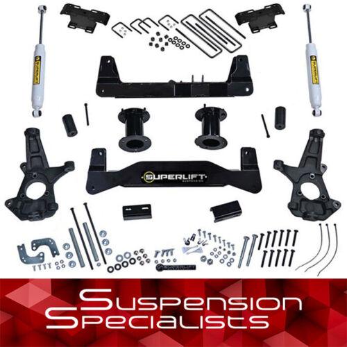 "Superlift 6.5"" Lift Kit W/ Shocks For 2014-2018 Chevy Silverado Gmc Sierra 2wd"