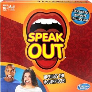 Speak Out - Hasbro Game Brand New