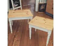 Gorgeous nest of two tables