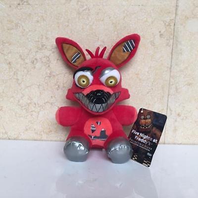 New Five Nights At Freddys Nightmare Foxy 8  Plush Stuffed Fnaf