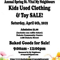 Vendors Wanted!  Kids used clothing and toy sale