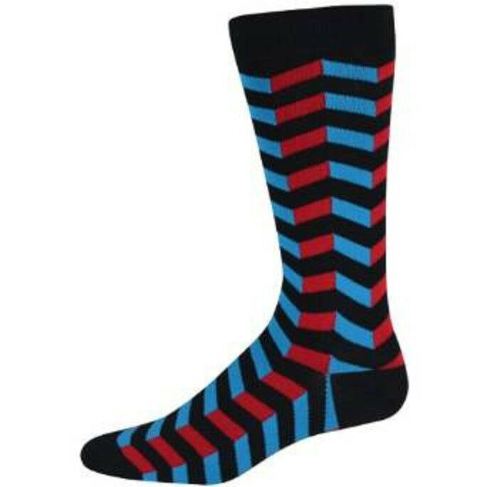 61765M K Bell Socks Men/'s 3D Skull Crew Sock Black One Size